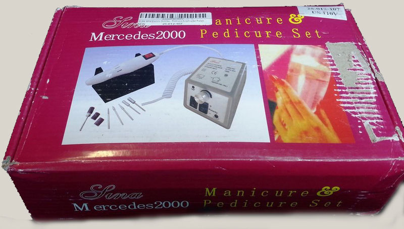 SINA MERCEDES 2000 MANICURE PEDICURE SET