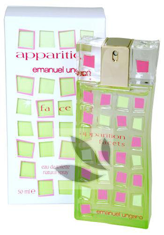 EMANUEL UNGARO APPARITION FACETS EDT EAU DE TOILETTE SPRAY PROFUMO DONNA 50 ml