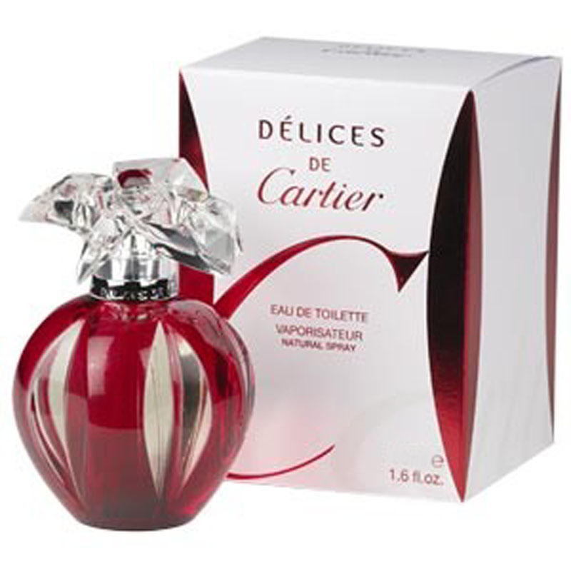 CARTIER DELICES DE CARTIER EAU DE TOILETTE EDT PROFUMO DONNA 100 ml