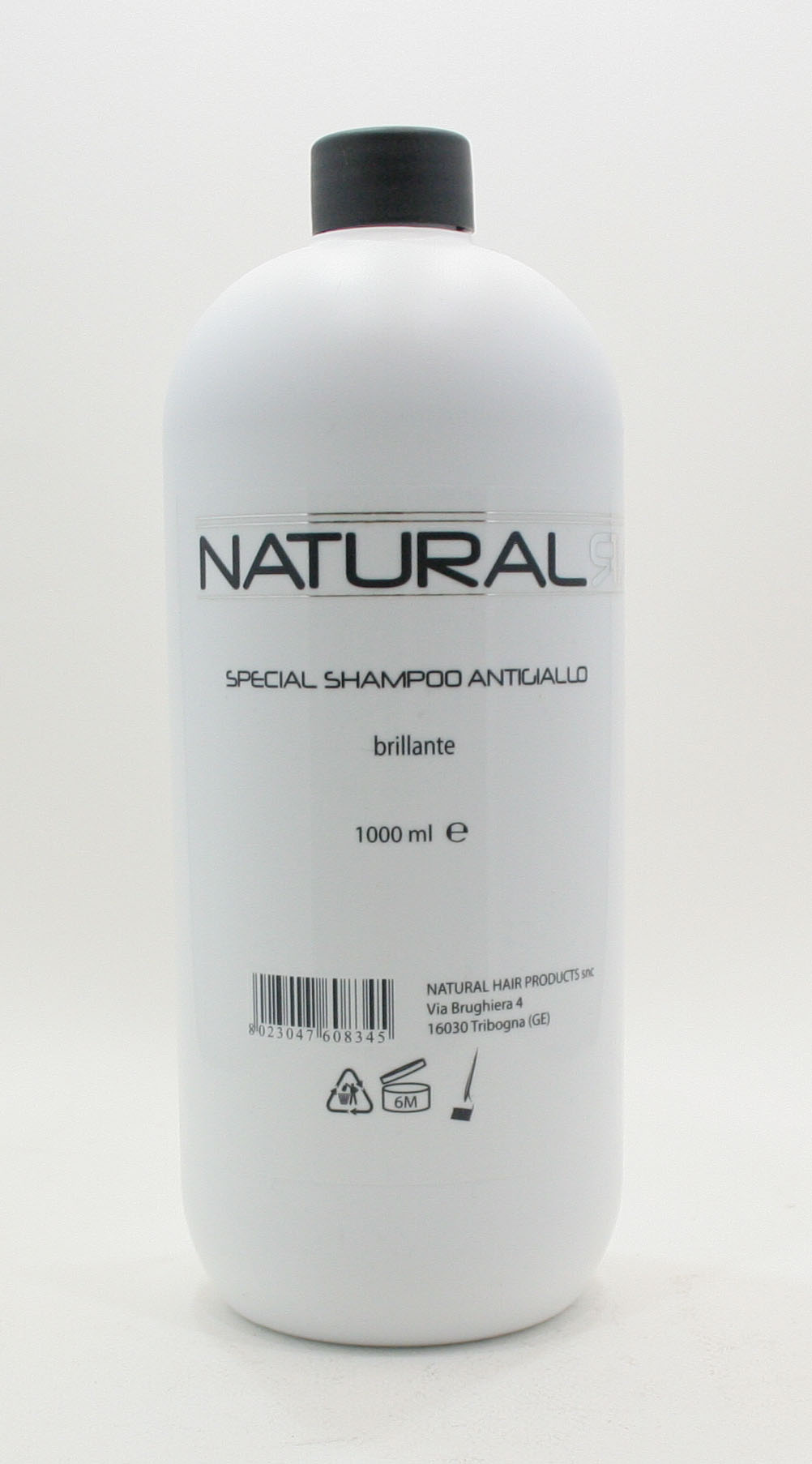 NATURAL HAIR SPECIAL SHAMPOO ANTIGIALLO BRILLANTE 1000 ml