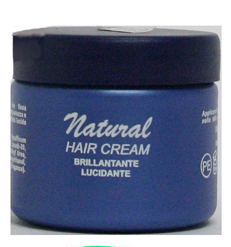 NATURAL HAIR CREAM BRILLANTANTE LUCIDANTE 150 ml