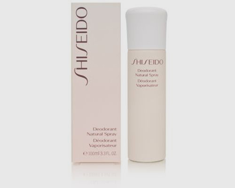 SHISEIDO DEODORANT NATURAL SPRAY DEODORANTE 100 ml NO GAS