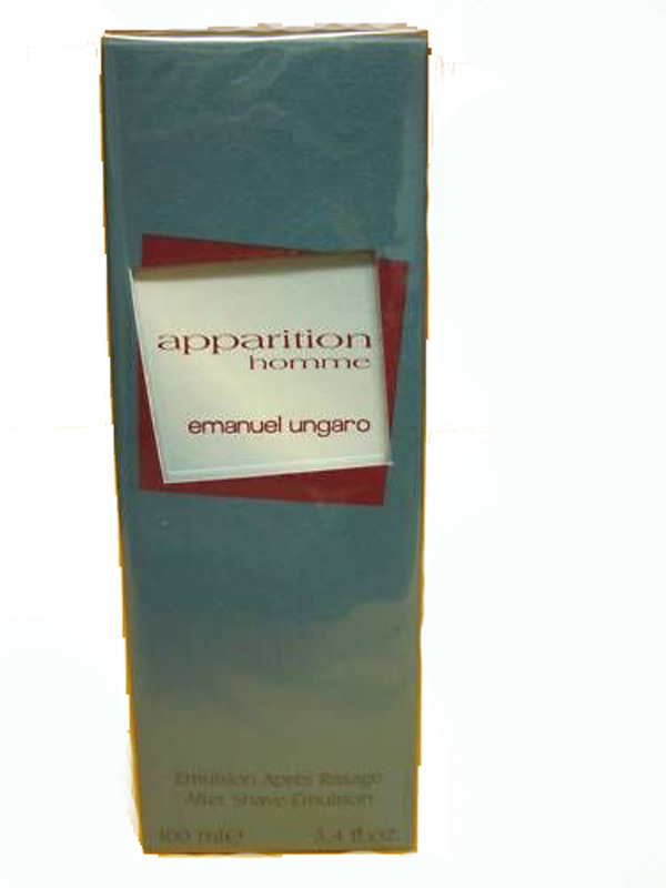 EMANUEL UNGARO APPARITION HOMME AFTER SHAVE EMULSIONE DOPOBARBA 100ml