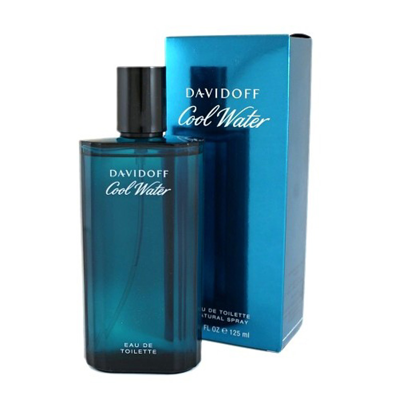 DAVIDOFF COOL WATER EAU DE TOILETTE PROFUMO UOMO 125 ml