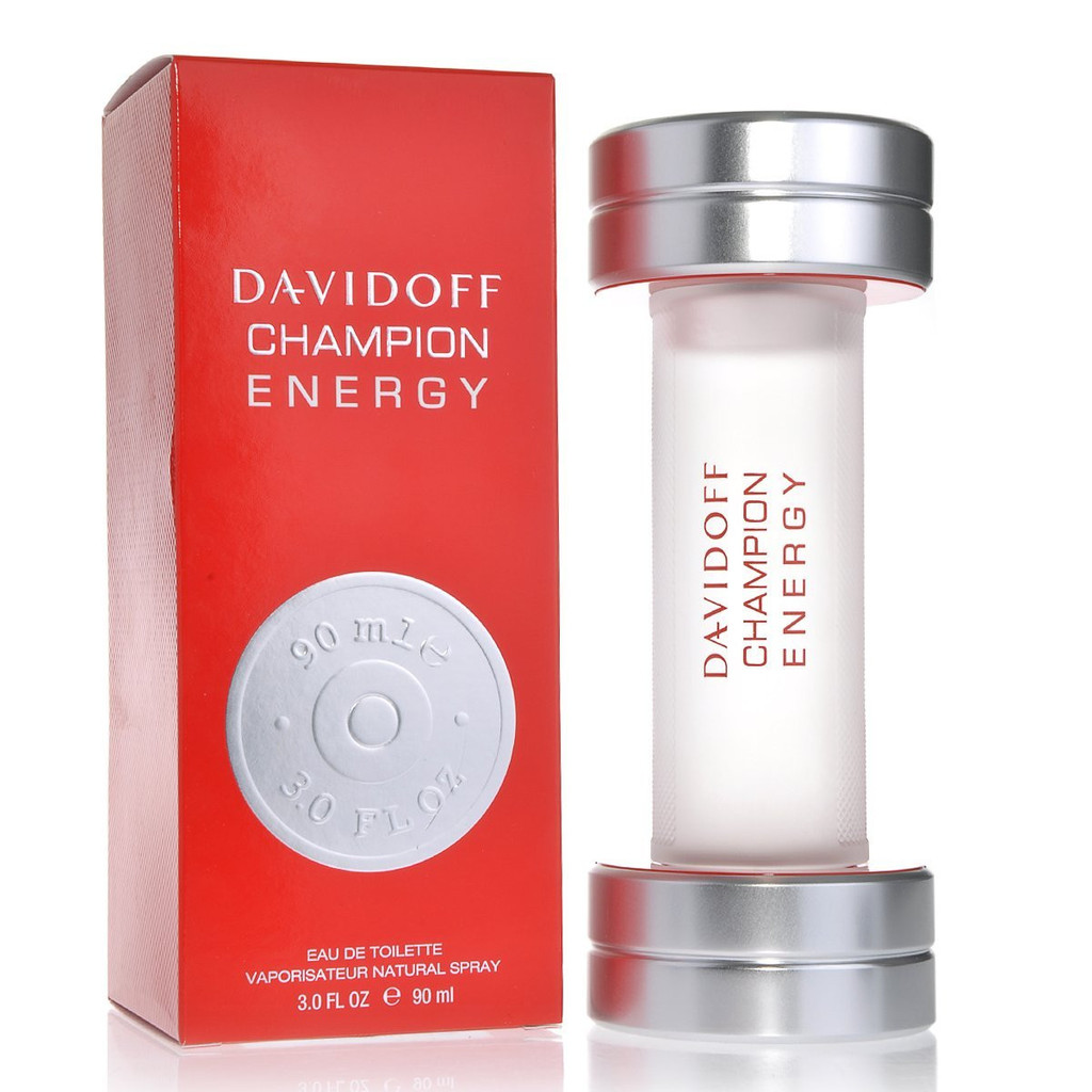 DAVIDOFF CHAMPION ENERGY 90 ml EDT EAU DE TOILETTE SPRAY
