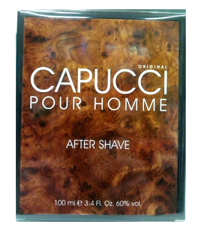 CAPUCCI POUR HOMME ORIGINAL AFTER SHAVE DOPOBARBA 100ml