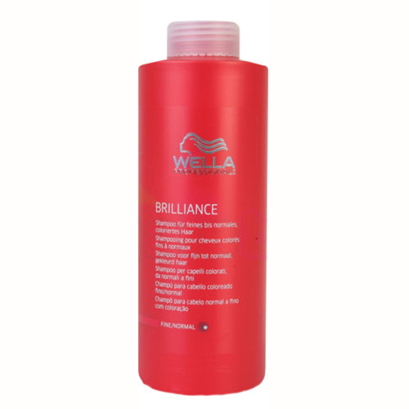 WELLA BRILLIANCE SHAMPOO PER CAPELLI COLORATI DA NORMALI A FINI 1000ml