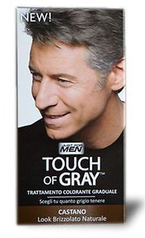 JUST FOR MEN TOUCH OF GRAY TRATT. COLORANTE GRADUALE CASTANO 40 ml