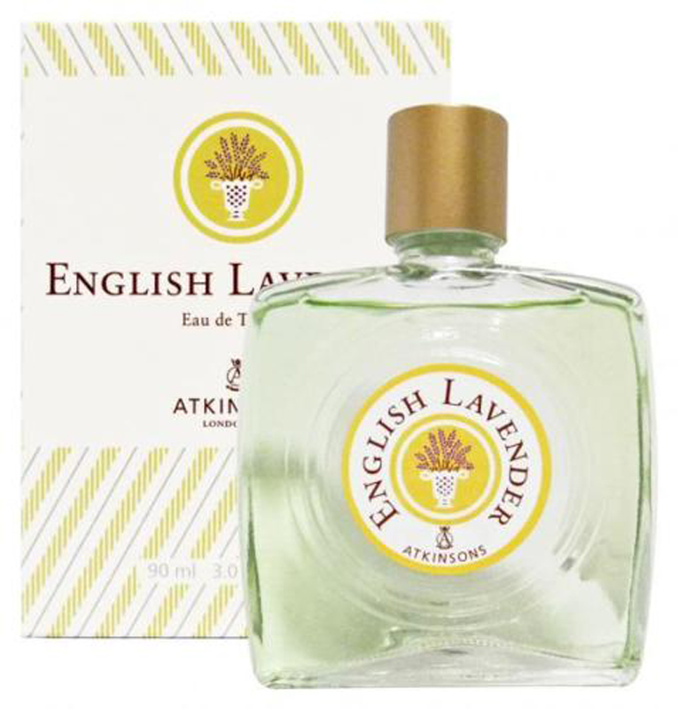 ATKINSONS ENGLISH LAVENDER EDT EAU DE TOILETTE 90ml