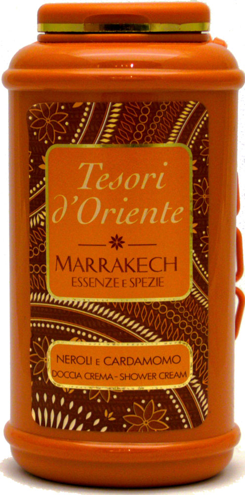 TESORI D'ORIENTE MARRAKECH NEROLI E CARDAMOMO DOCCIA CREMA SHOWER CREAM 250ml