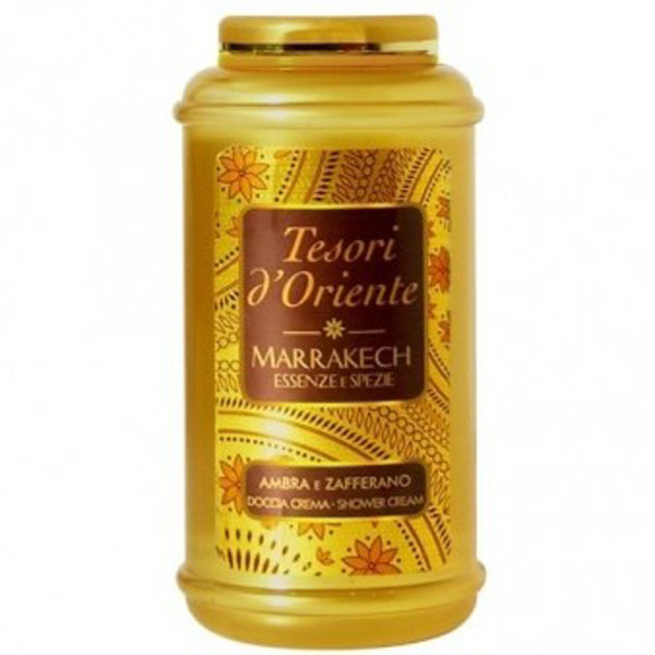TESORI D'ORIENTE MARRAKECH AMBRA E ZAFFERANO DOCCIA CREMA SHOWER CREAM 250ml
