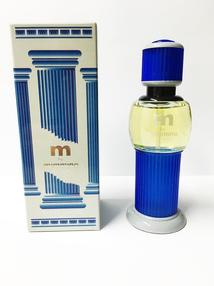 M BY MIMMINA FOR MEN EAU DE TOILETTE EDT SPRAY 50ml UOMO VINTAGE RARO