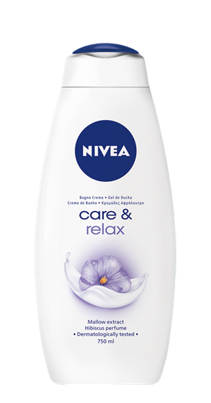 NIVEA BAGNO CREMA CARE E RELAX 750ml