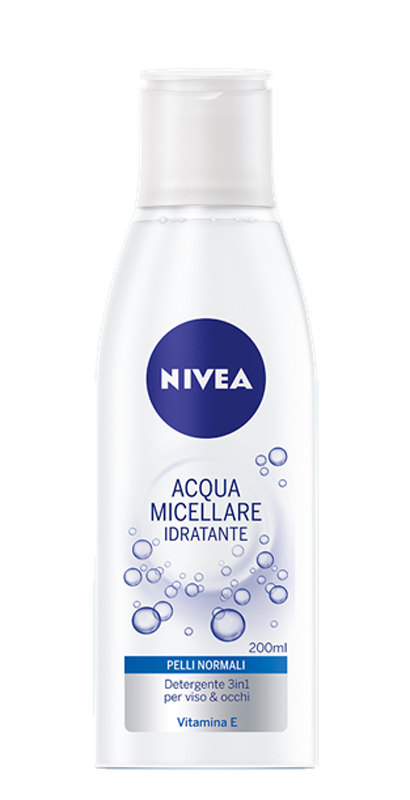 NIVEA ACQUA MICELLARE 3IN1 IDRATANTE VITAMINA E 200ml