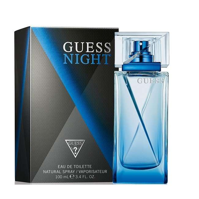GUESS NIGHT EDT EAU DE TOILETTE SPRAY 100ml