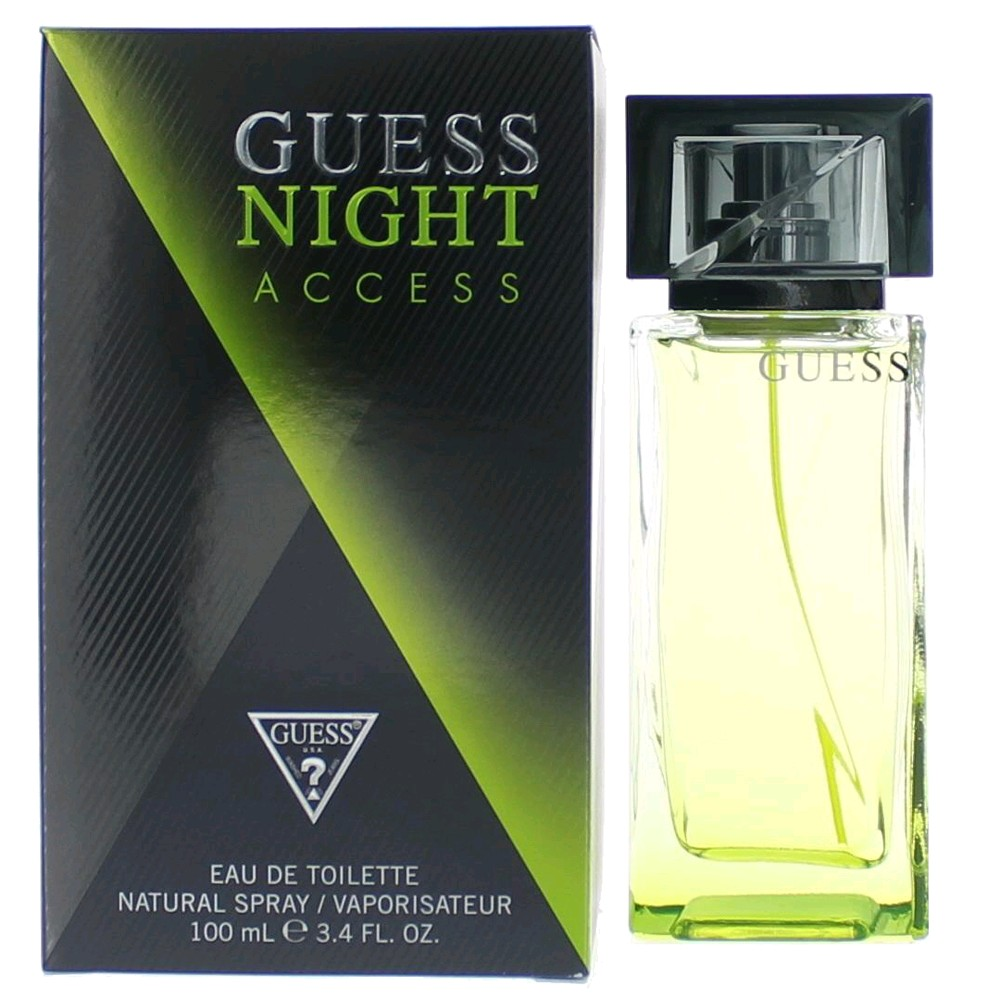 GUESS NIGHT ACCESS EDT EAU DE TOILETTE SPRAY 100ml