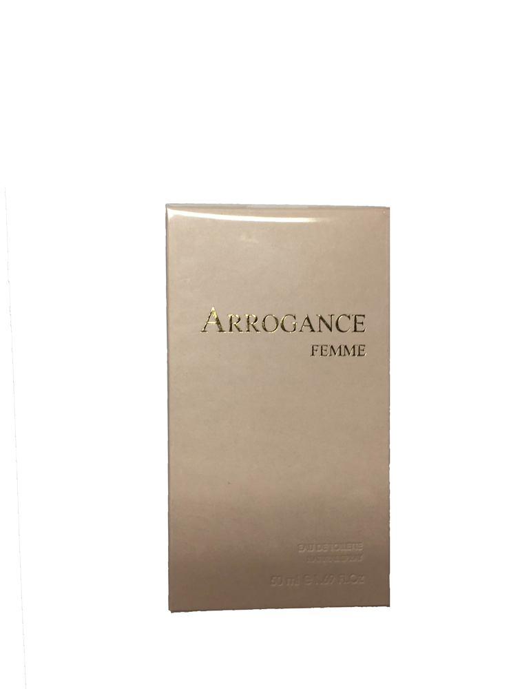 ARROGANCE FEMME EDT EAU DE TOILETTE SPRAY 50ml