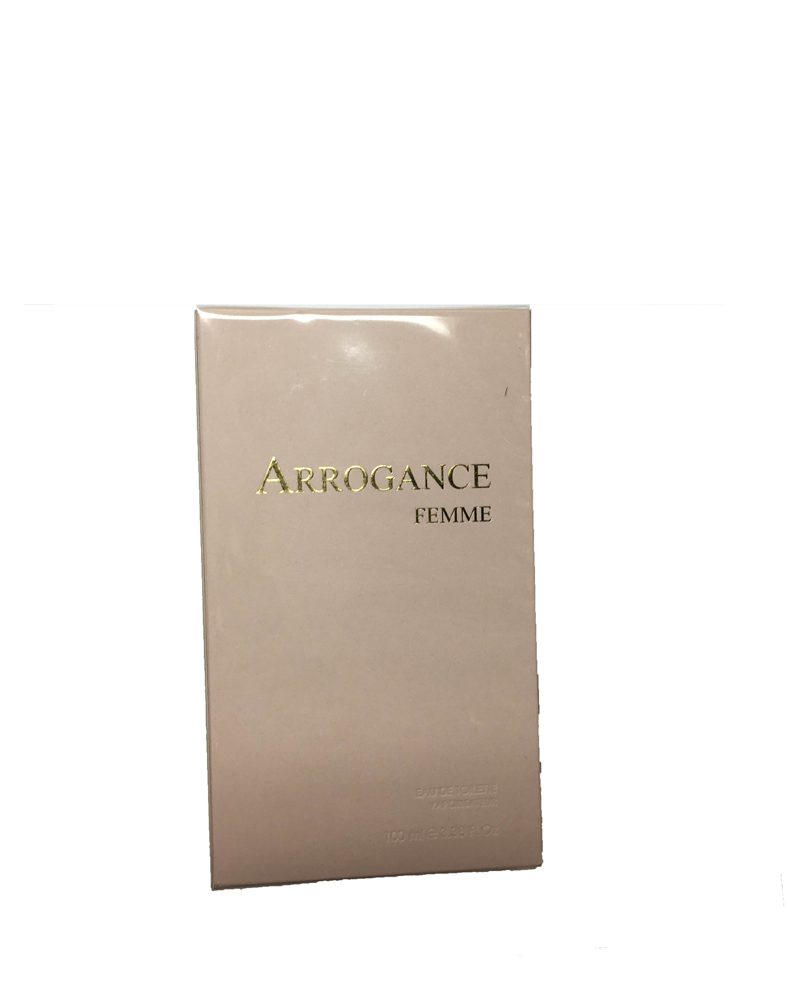 ARROGANCE FEMME EDT EAU DE TOILETTE SPRAY 100ml