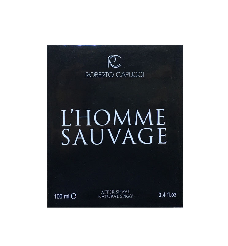 ROBERTO CAPUCCI L'HOMME SAUVAGE AFTER SHAVE 100ml ISPIRATO DIOR SAUVAGE