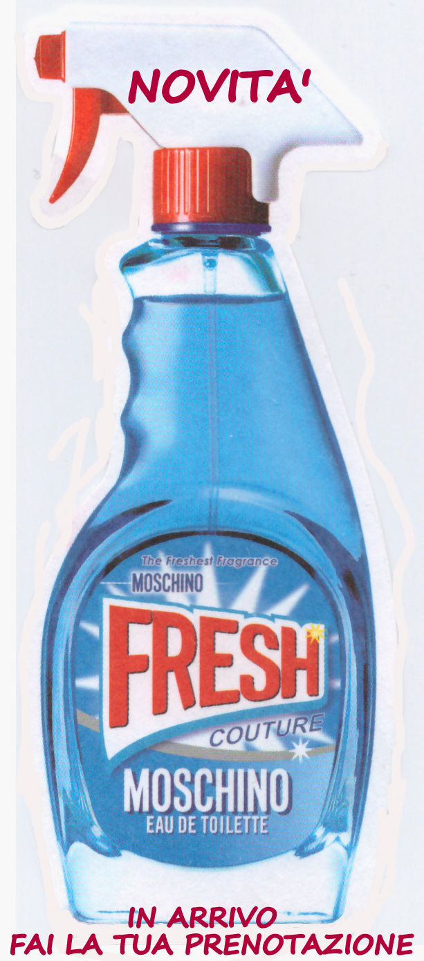 MOSCHINO FRESH COUTURE EDT EAU DE TOILETTE 100ml
