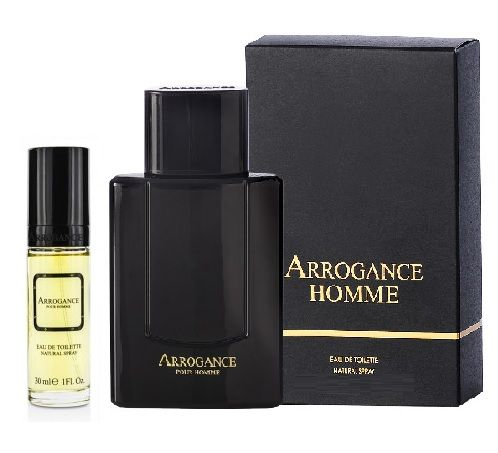 ARROGANCE HOMME EDT EAU DE TOILETTE 100ml E 30ml IN REGALO PROFUMO UOMO