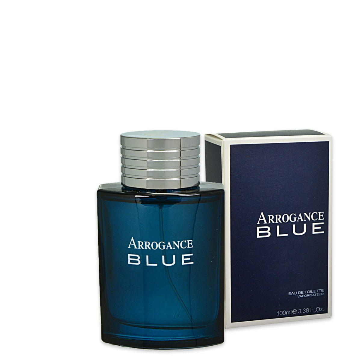 Arrogance Blue Profumo Uomo Edt Eau De Toilette Spray 100 Ml