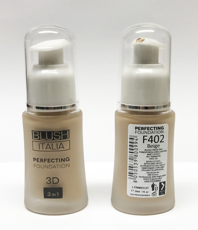 BLUSH ITALIA PERFECTING FOUNDATION 3D 3 IN 1 FONDOTINTA BEIGE 402 30ml