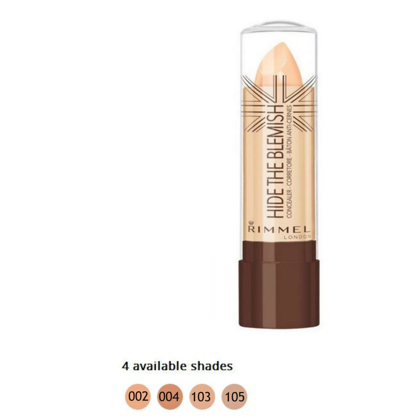 RIMMEL HIDE THE BLEMISH CORRETTORE IN STICK 4,5g 103 SOFT HONEY