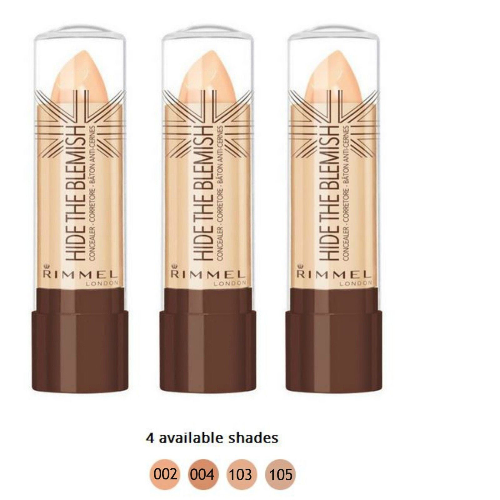 KIT 3 PZ RIMMEL HIDE THE BLEMISH CORRETTORE IN STICK 4,5g 103 SOFT HONEY