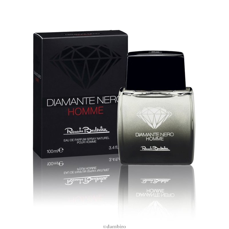 RENATO BALESTRA DIAMANTE NERO HOMME EDP EAU DE PARFUM SPRAY 100ml