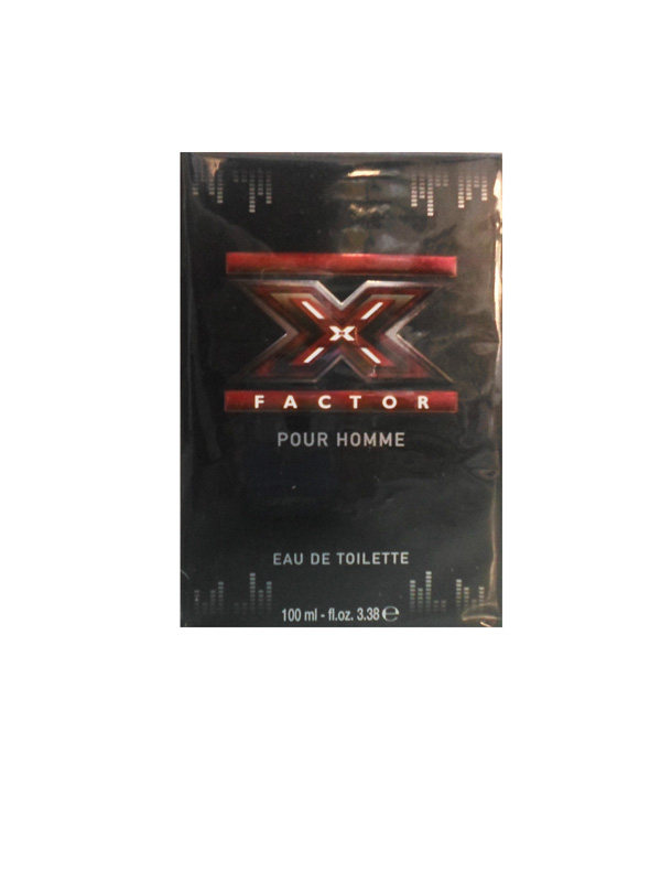 X FACTOR POUR HOMME EDT EAU DE TOILETTE 100ml SPRAY