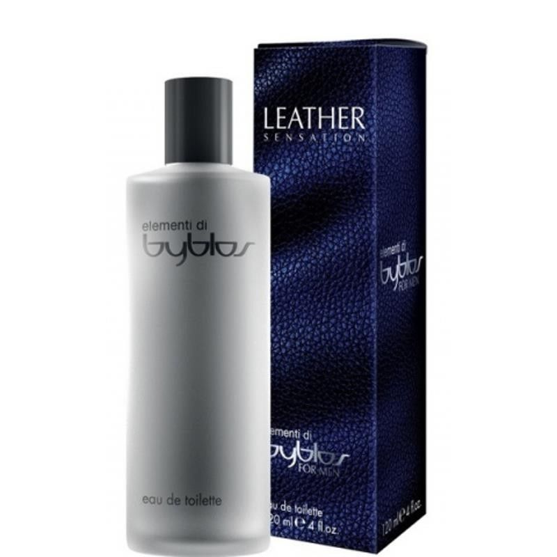 BYBLOS LEATHER SENSATION EAU DE TOILETTE EDT FOR MEN 120 ml