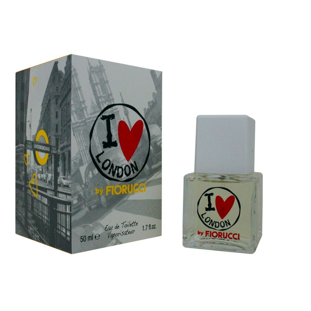 FIORUCCI I LOVE LONDON EDT EAU DE TOILETTE VAPO 50ml