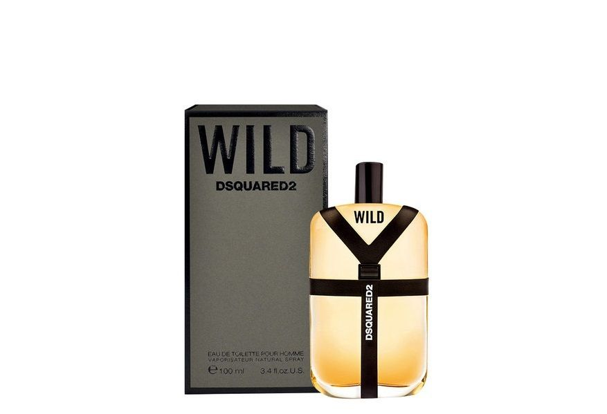 DSQUARED2 WILD EDT EAU DE TOILETTE SPRAY POUR HOMME 100ml