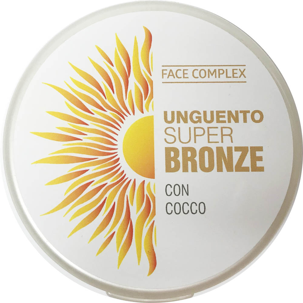 FACE COMPLEX UNGUENTO SUPER BRONZE CON COCCO 200ml