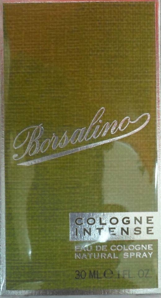 BORSALINO COLOGNE INTENSE EAU DE COLOGNE NATURAL SPRAY 30ML