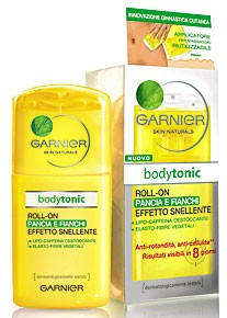 GARNIER BODY TONIC ROLL-ON PANCIA E FIANCHI EFFETTO SNELLENTE 100 ML