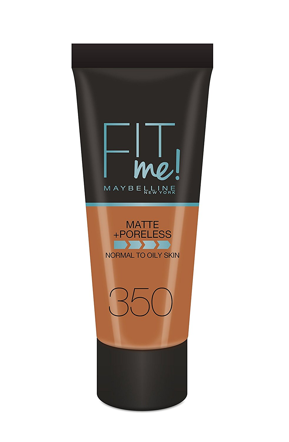 MAYBELLINE NEW YORK FIT ME MATTE PORELESS FONDOTINTA OPACIZZANTE 350CARAMEL 30ML