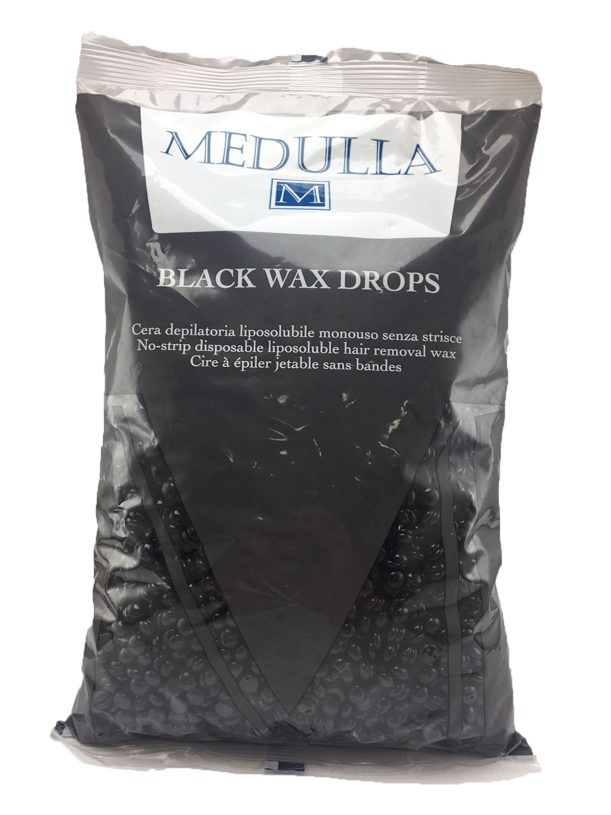 MEDULLA CERA DEPILATORIA BRASILIANA LIPOSOLUBILE BLACK WAX DROPS 800 G