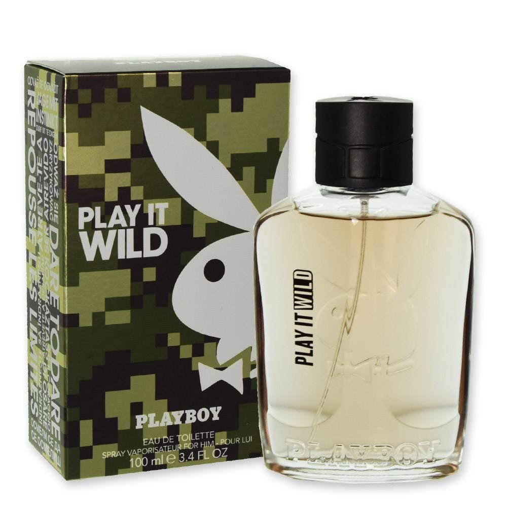 PLAYBOY PLAY IT WILD PROFUMO UOMO EDT 100 ML