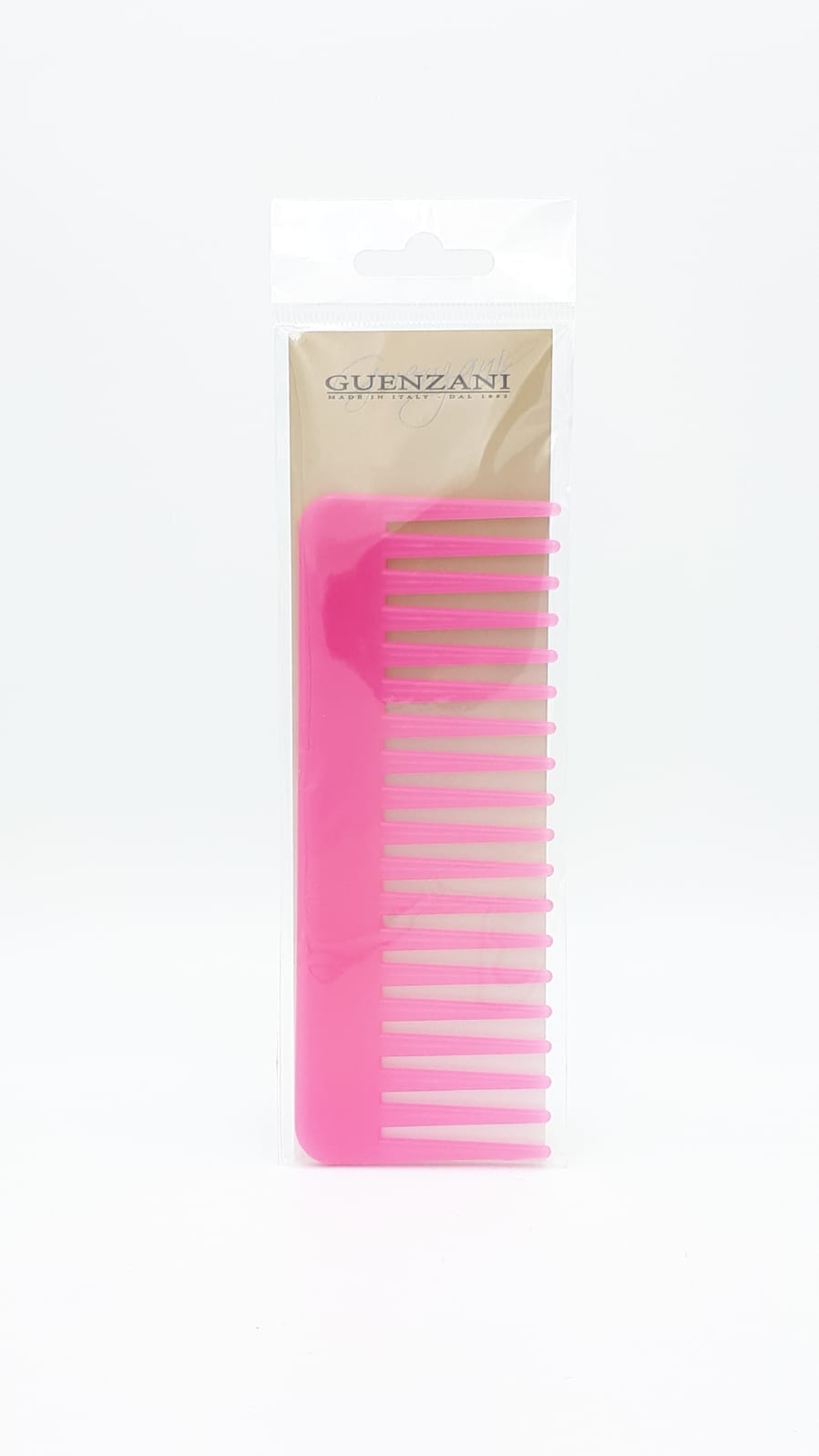 GUENZANI PETTINE PER CAPELLI ROSA PROFESSIONALE MADE IN ITALY N 3511