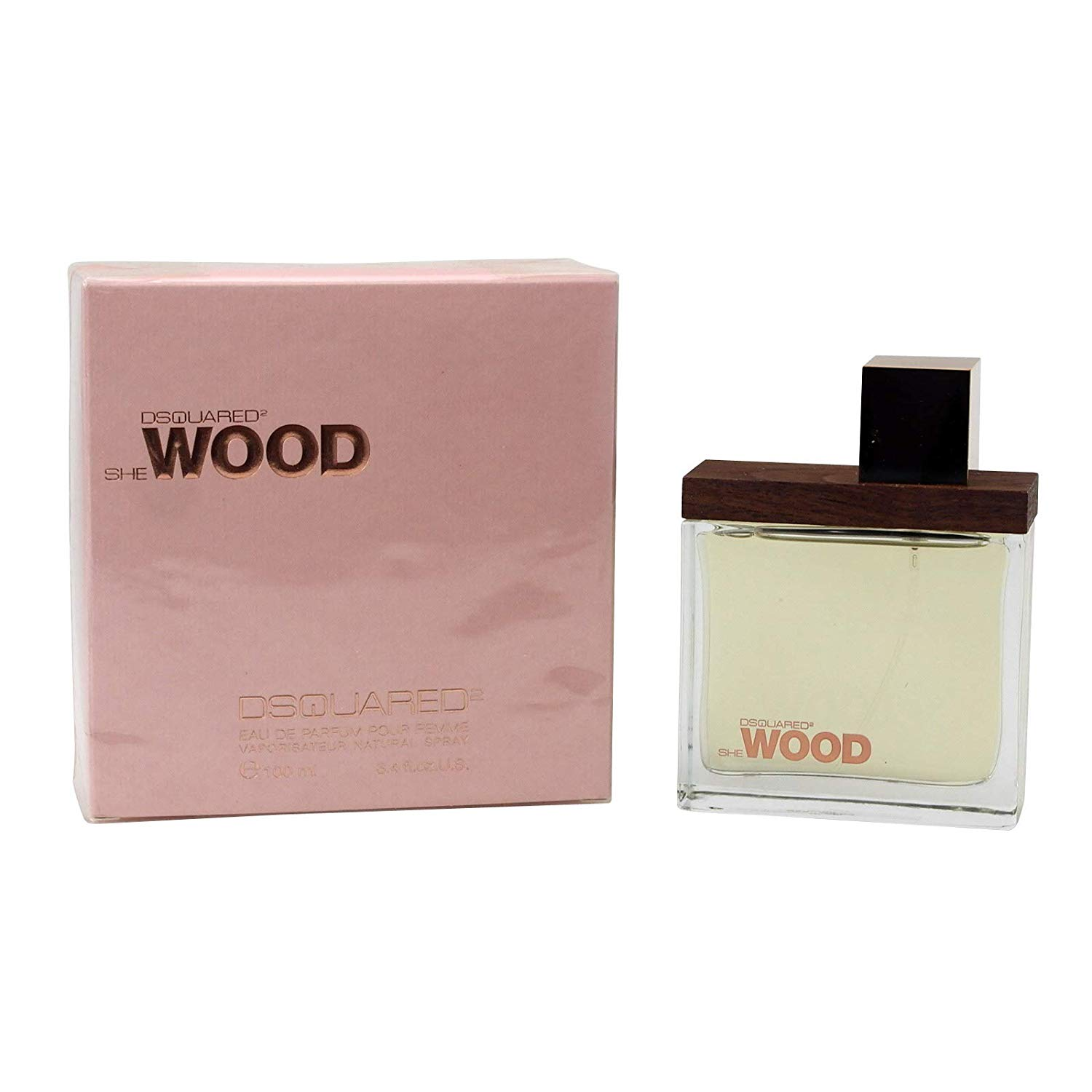 Dsquared2 She Wood Profumo Donna Edp Eau De Parfum Spray 100 Ml