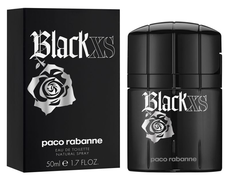 PACO RABANNE PROFUMO UOMO BLACK XS EXCESS EDT  NATURAL SPRAY 50 ML
