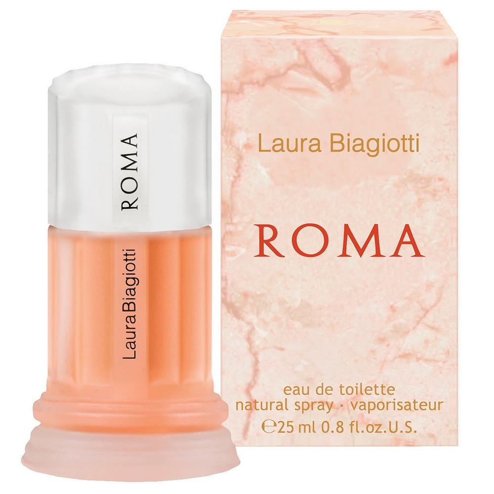 LAURA BIAGIOTTI ROMA EAU DE TOILETTE PROFUMO DONNA 25 ml NATURAL SPRAY