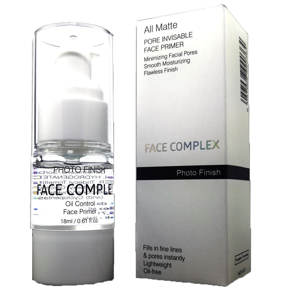 FACE COMPLEX PRIMER PHOTO FINISH TRUCCO VISO LIVELLANTE OPACIZZANTE PORI DILATATI MAKE UP 18 ML