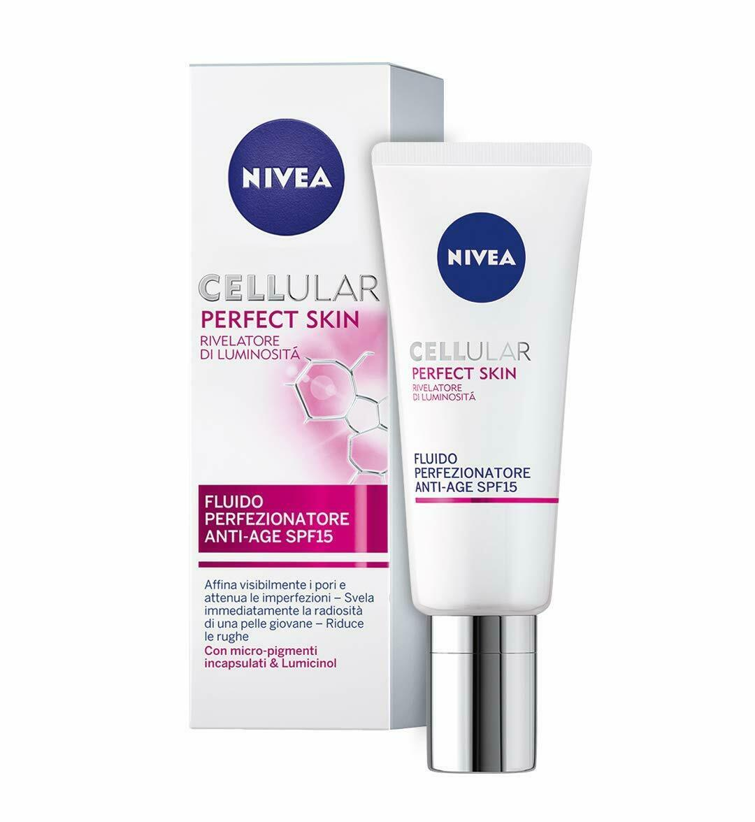 NIVEA CELLULAR PERFECT SKIN FLUIDO PERFEZIONATORE ANTI-AGE SPF 15 40ml