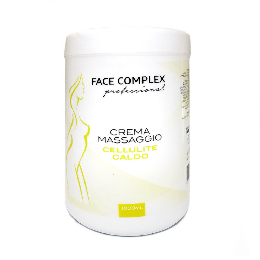 FACE COMPLEX CREMA MASSAGGIO TERMOATTIVA A CALDO ANTI CELLULITE CORPO 1000ML