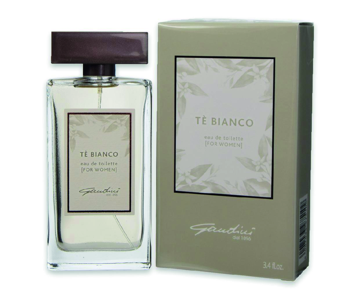 GANDINI EDT EAU DE TOILETTE TE' BIANCO FOR WOMEN PER DONNA 100 ML