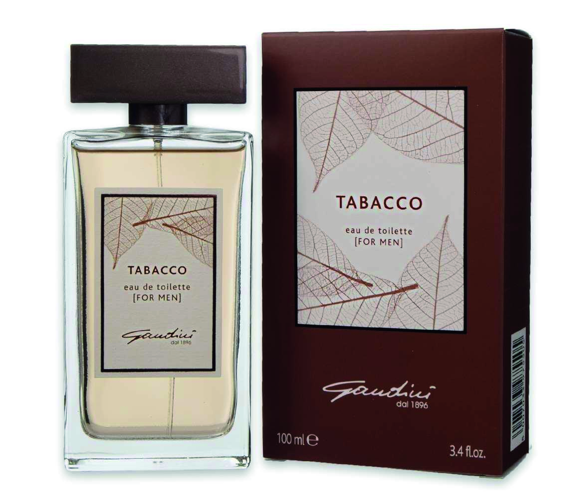 GANDINI EDT EAU DE TOILETTE TABACCO FOR MEN PER UOMO SPRAY 100 ML