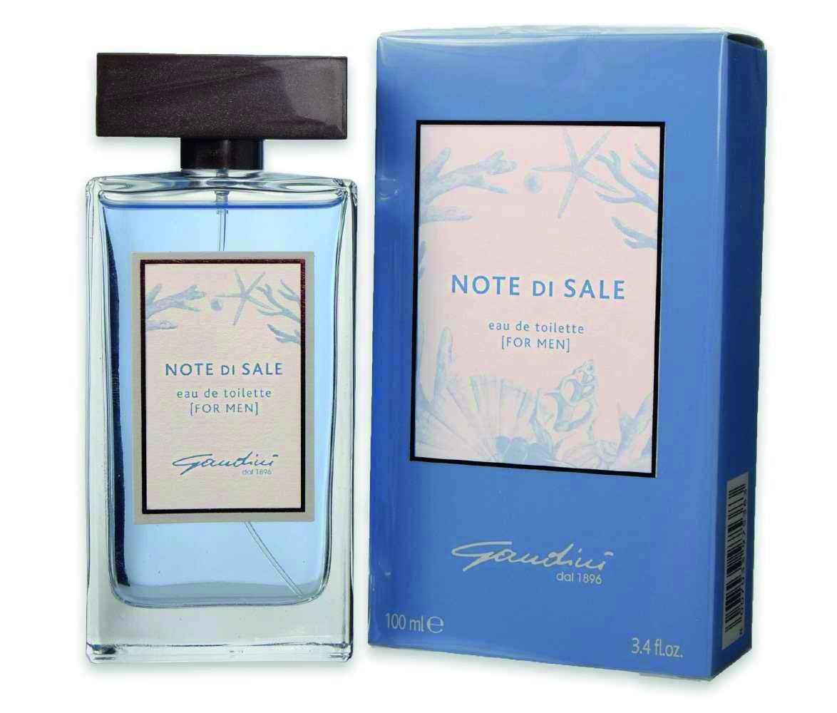 GANDINI EDT EAU DE TOILETTE NOTE DI SALE FOR MEN PER UOMO SPRAY 100 ML